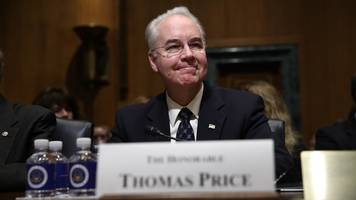 senate confirms tom price as secretary of health and human services
