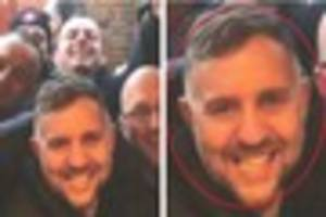 Police hunt for man who headbutted two people in unprovoked pub...