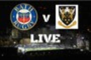 bath rugby v northampton saints live from the rec in the aviva...