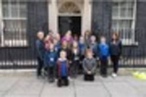 houses of parliament, number 10 and the shard on london trip...