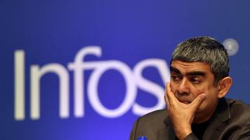 is india's infosys in a tata-style battle?