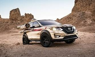Nissan Rogue Gets X-Wing Treatment For Chicago Auto Show