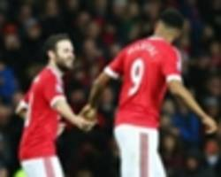 mata lauds 'terrific' united goalscorer martial