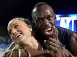 usain bolt wins 150m as all stars complete clean sweep