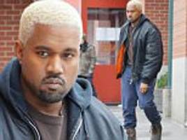 Kanye West bleaches hair after deleting Trump tweets