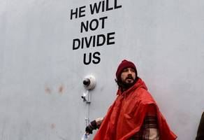 Shia LaBeouf Anti-Trump Rally Shut Down After Becoming A Flashpoint For Violence