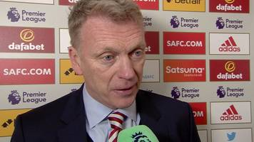 sunderland 0-4 southampton: black cats didn't play well - moyes