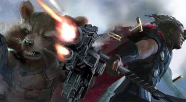 marvel has already released an epic teaser from the set of 'avengers: infinity war'