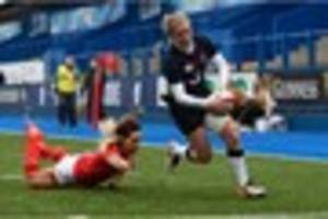 WATCH: Danielle Waterman after starring for England in crushing...