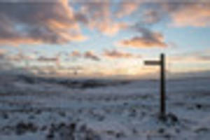 There's a chance it could snow in Cornwall this weekend - and...