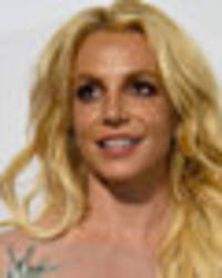 Britney Spears flashes boobs at Grammys party in jaw-dropping see-through dress