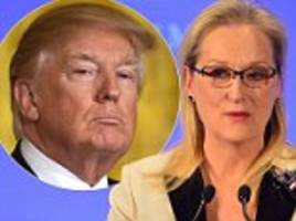 Meryl Streep doubles down on Donald Trump criticism