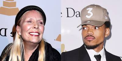 """Joni Mitchell """"Moved"""" By Chance the Rapper's Pre-Grammy Gala Performance"""