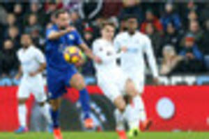 Swansea 2-0 Leicester City ratings:  Two players only score four