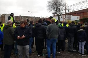 hibs fans locked out at tynecastle as hearts ticket farce strikes again