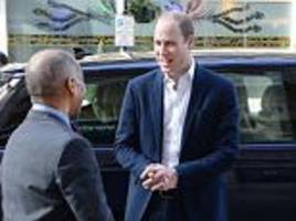 prince william launches centrepoint helpline in london
