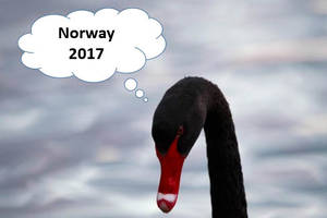 the norwegian economy in 2017: black swans hovering overhead