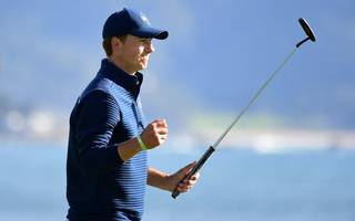 spieth is back to his brilliant best in time for the masters