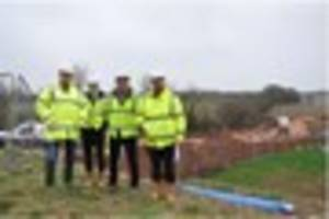 Work underway on new Dawlish Countryside Park