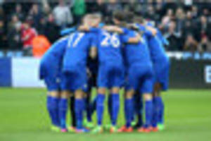 Leicester City bottom of table for ALL Premier League and...