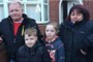 Cobridge family 'minutes from death' as smoke filled house