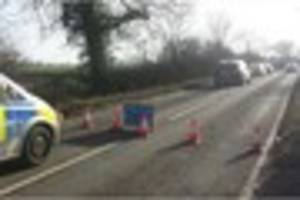 Rescue attempt in vain as vehicle hits tree in fatal crash