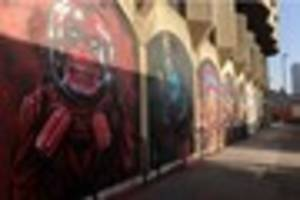 The amazing new street art which has appeared in Croydon town...