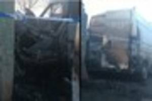 Vehicles and bins destroyed in deliberate fires near Frome...
