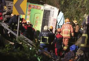 [BREAKING]: Update: Death Toll Revised Upward To 32 In Deadly Taiwan Bus Crash