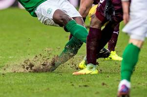 hearts set to spend £1m relaying tynecastle pitch which tore up badly during edinburgh derby
