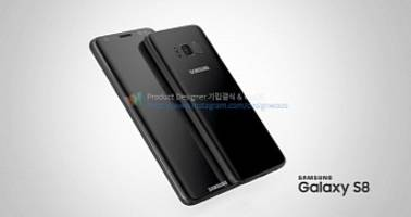 Concept Images Show Stunning Samsung Galaxy S8 in Multiple Color Variants