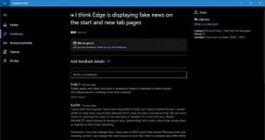 Microsoft Edge Browser Accused of Displaying Fake News in New Tabs