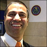New FCC Chair Ajit Pai Vows to Kill Net Neutrality Rules