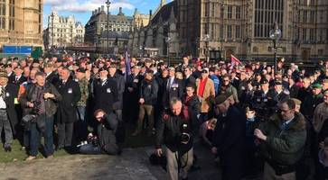 army veterans' march moved to coleraine over safety concerns in derry
