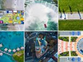 Chase Guttman's aerial pictures taken with a drone