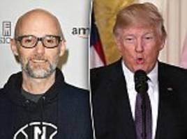 moby claims he can 'prove' trump is being blackmailed