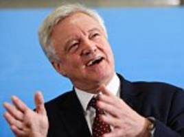 don't expect brexit talks to start on march 9, says davis