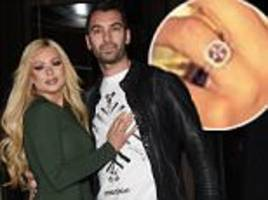 nicola mclean shows off her brand new wedding ring