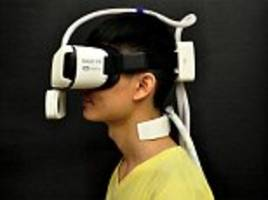 new virtual reality gear can simulate the weather