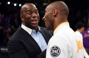 magic johnson wants kobe bryant's help to save the los angeles lakers
