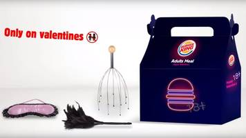 Burger King unveils 'adult' meal with free adult toy