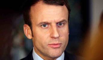france's macron says he is target of russian fake news campaign