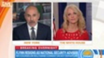 Matt Lauer Tells Kellyanne Conway She 'Makes No Sense'