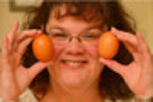 Leicestershire woman left stunned after cracking open egg to find...