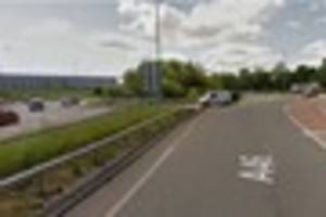 Lorry driver picked up knife during road rage clash on A46