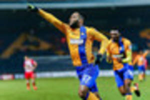 Yoann Arquin is Mansfield Town's super sub in eight-goal thriller