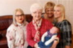 delight as new arrival makes family five generations strong