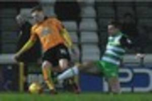 Yeovil Town 1-1 Cambridge United - player ratings and man of the...