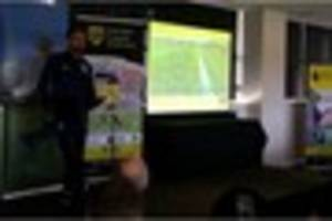 England manager Gareth Southgate at Burton Albion to unveil new...