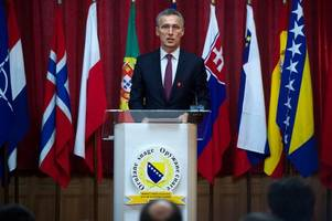 NATO chief seeks bigger defense budgets ahead of US meeting